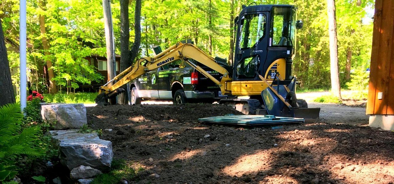 excavation contractor seguin - Greenleaf Excavation
