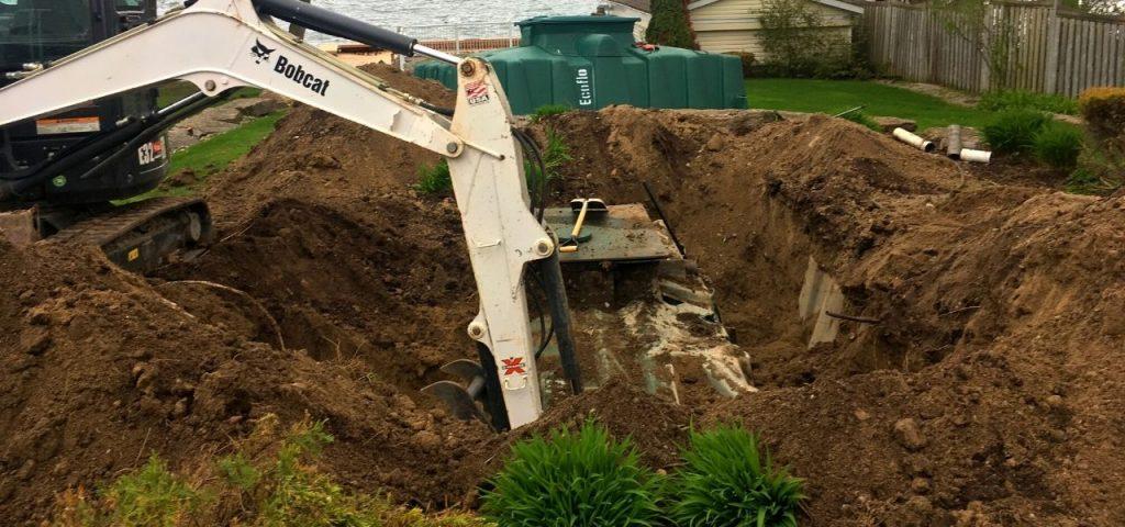Muskoka Septic Installation - Greenleaf Excavation 5