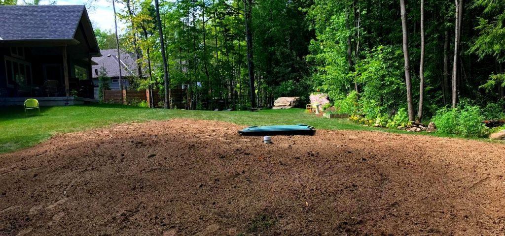 Muskoka Septic Installation - Greenleaf Excavation 2